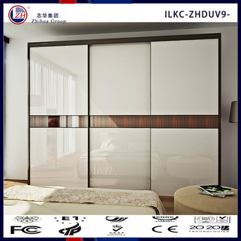 Ordinaire Wooden Wardrobe Cabinet Closet Sliding Doors