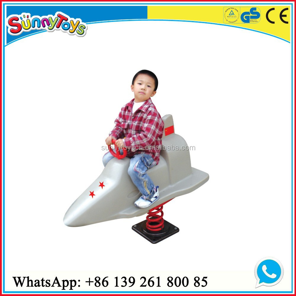 plastic spring rocking horse kids spring toys playground equipment spring riders