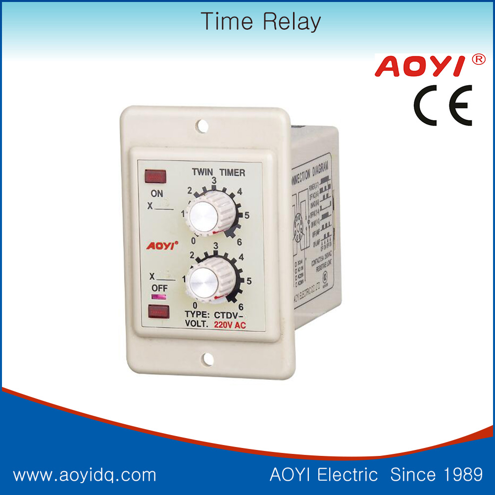 Repeat Cycle contious on off twin <strong>timer</strong> relay high quality silver contacts relay <strong>timer</strong>