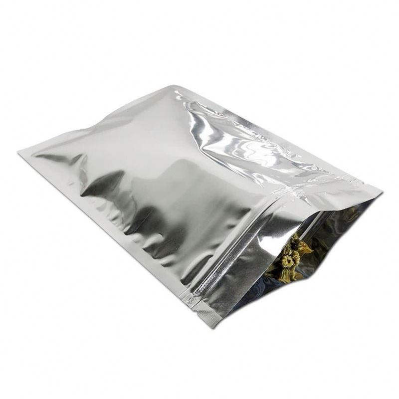 pe lamination plastic aluminum foil bag with window coffee packaging bag with ziplock