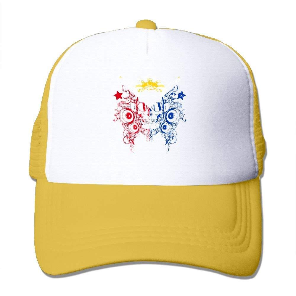 Filipino Map Philippines Flag Men /& Womens Knitted Hat Winter Warm Fleece Beanie Hat