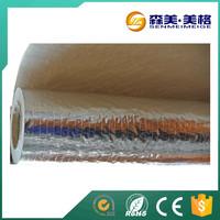 foil radiant heat barrier/aluminium foil woven fabric dry/fire retardant material aluminum foil