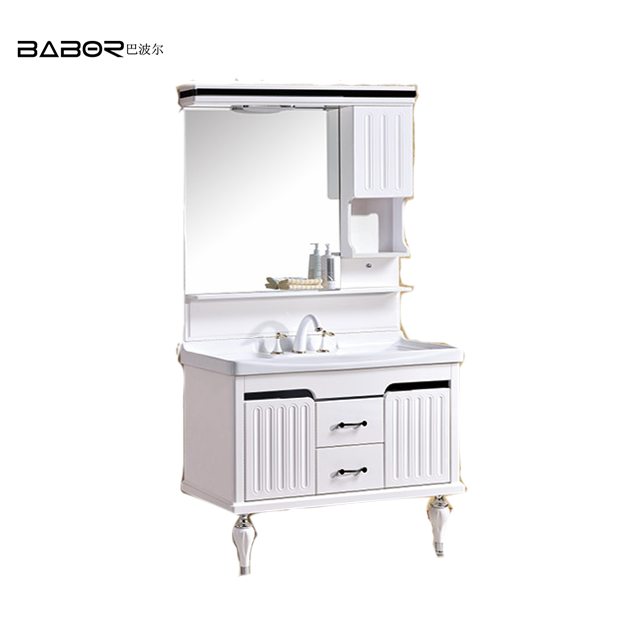 Babor Sanitary Ware Egypt Bathroom Mirror Cabinet/ Toilet Washing Basin with Vanity Cabinets