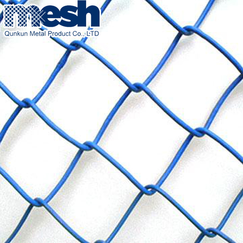 Hot selling high quality electro galvanized decorative chain link fence
