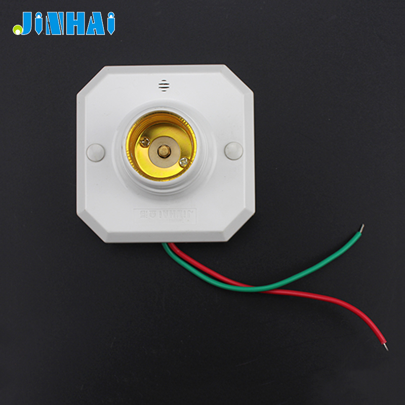 E27 Lights Motion Sensor Lamp Holder Replace Wall Switch