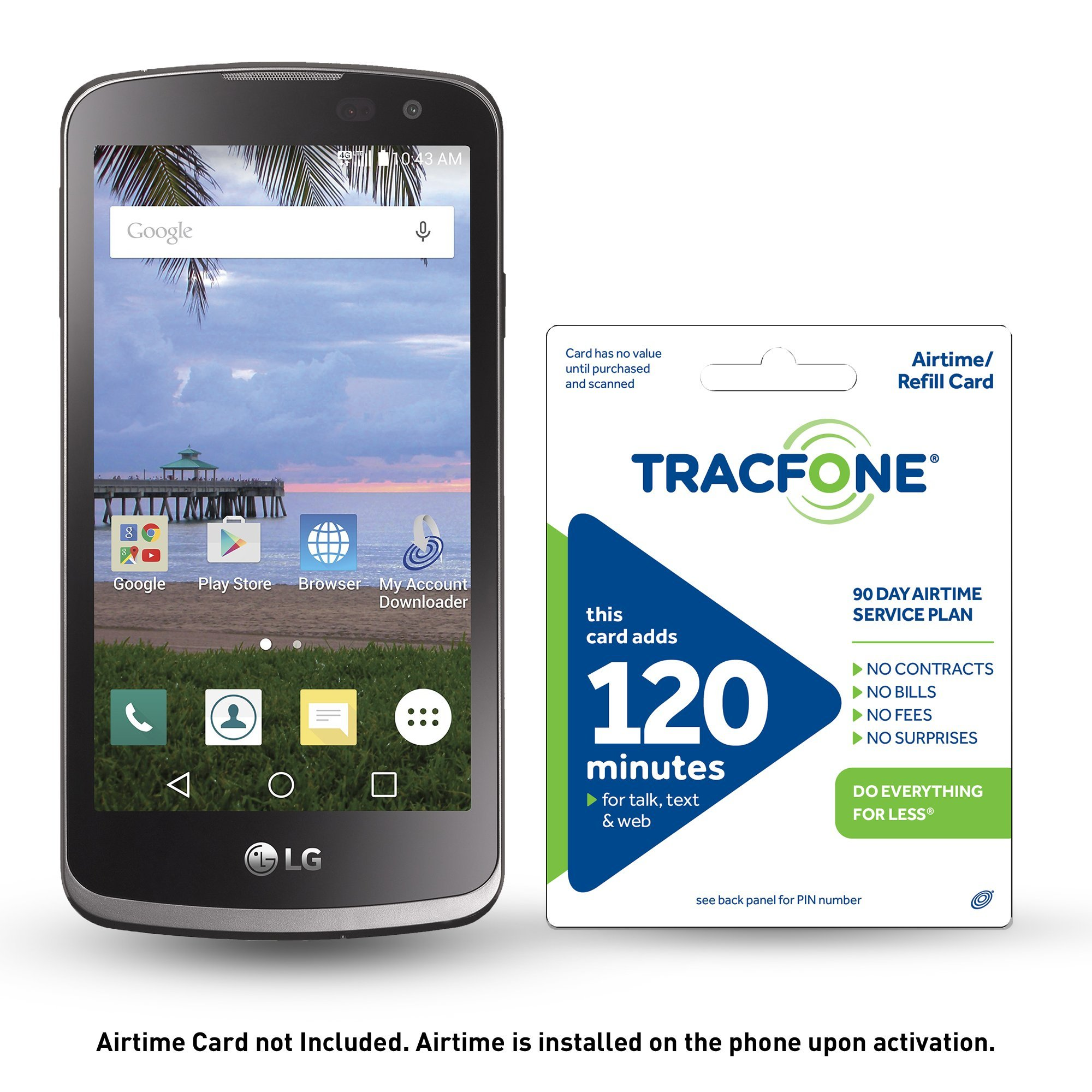 get quotations tracfone lg rebel 4g lte prepaid smartphone with free 30 airtime installed in phone - Prepaid Cell Phone Cards