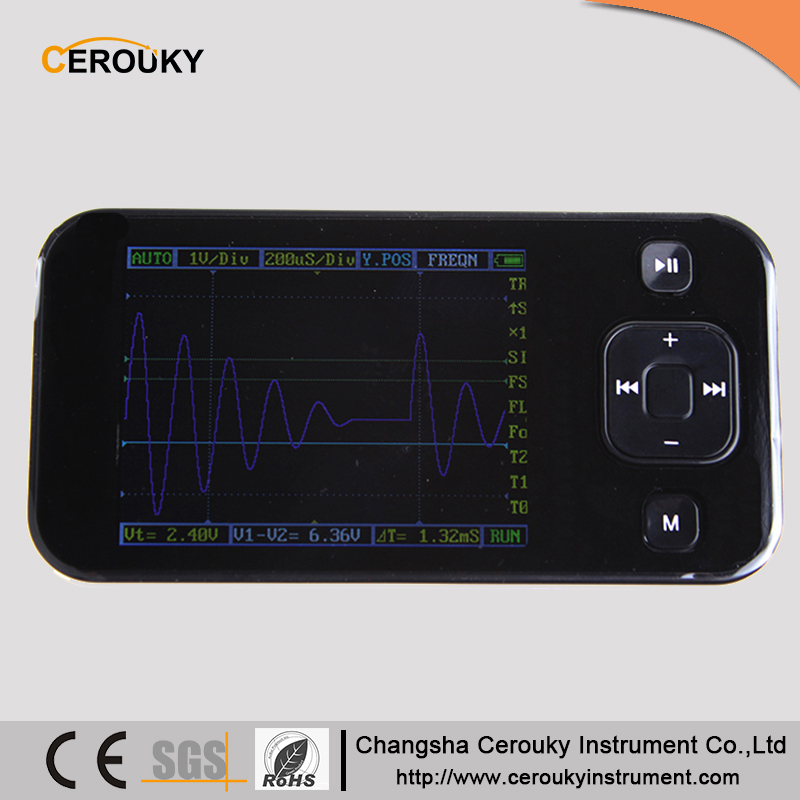 Handheld digital oscilloscope with usb interface