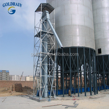100 tons Conical Silo Hopper Bottom Silo