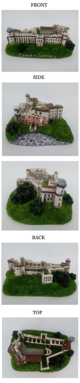 Custom Resin Tiny Models Tourist Souvenir Building Model Miniature House
