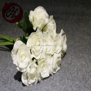Standard purity love of handmade artificial white rose