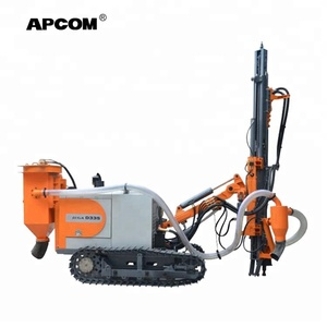 APCOM factory wholesale crawler dth borehole portable drilling rig price mobiles china small mine drilling rig machine