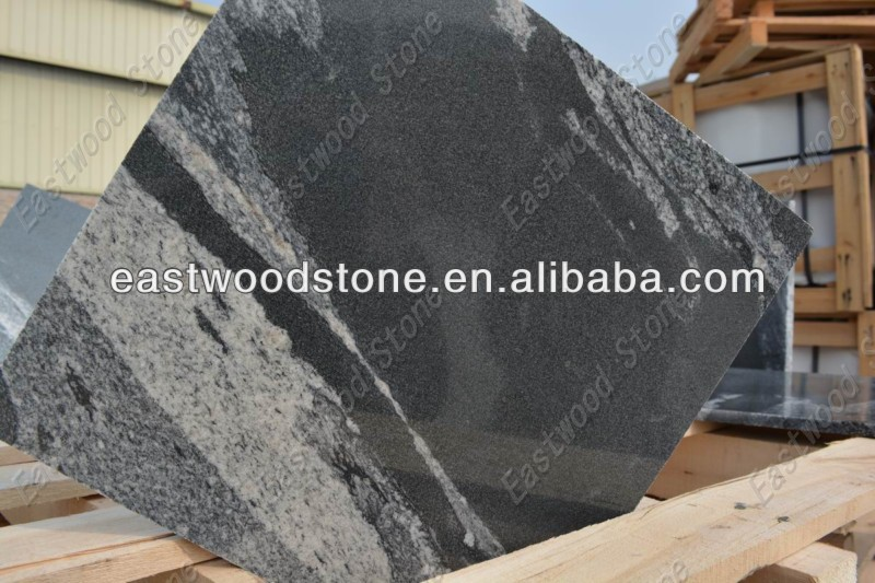 granite black via lactea quarry