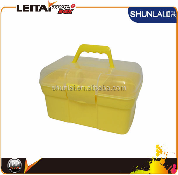 New Design Handle Toolbox/ Plastic Drawer Tool Box/Plastic Tool Box SL-G0014