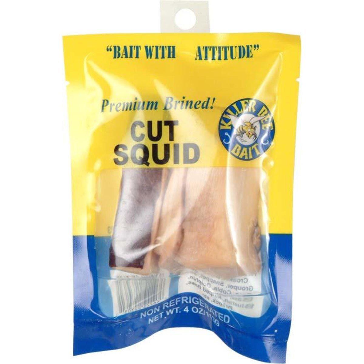 Killer Bee 223031 Premium Bait Cut Squid