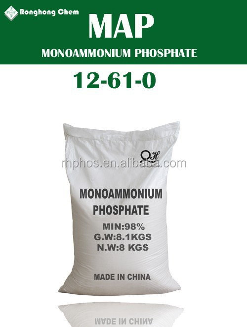 Min 99% Monoammonium Phosphate 12-61-0 Map Nh4.h2po4