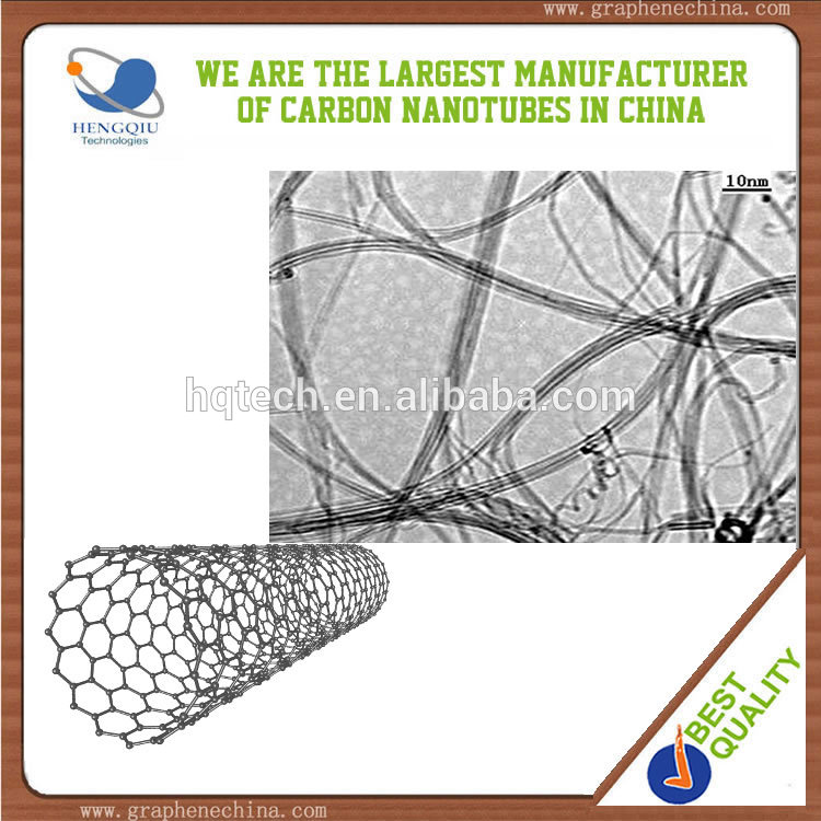 High electric and thermal conductive multi walled carbon nanotubes