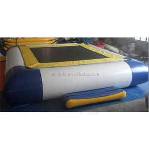 Bouncy Inflatable Water Trampoline Custom Size Water Bouncer
