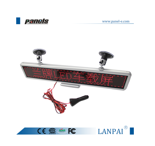 Shenzhen factory hot sale scrolling message display led bus display