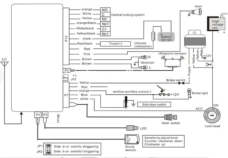 giordon keyless entry system wiring diagram images giordon car giordon car alarm wiring diagram diagrams