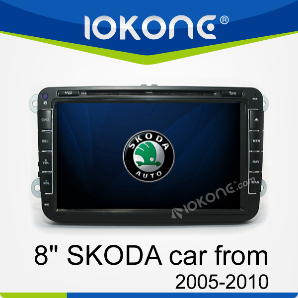 8'' HD In dash Car DVD GPS for Skoda Octavia/Fabia/Seat Leon 2005-2010