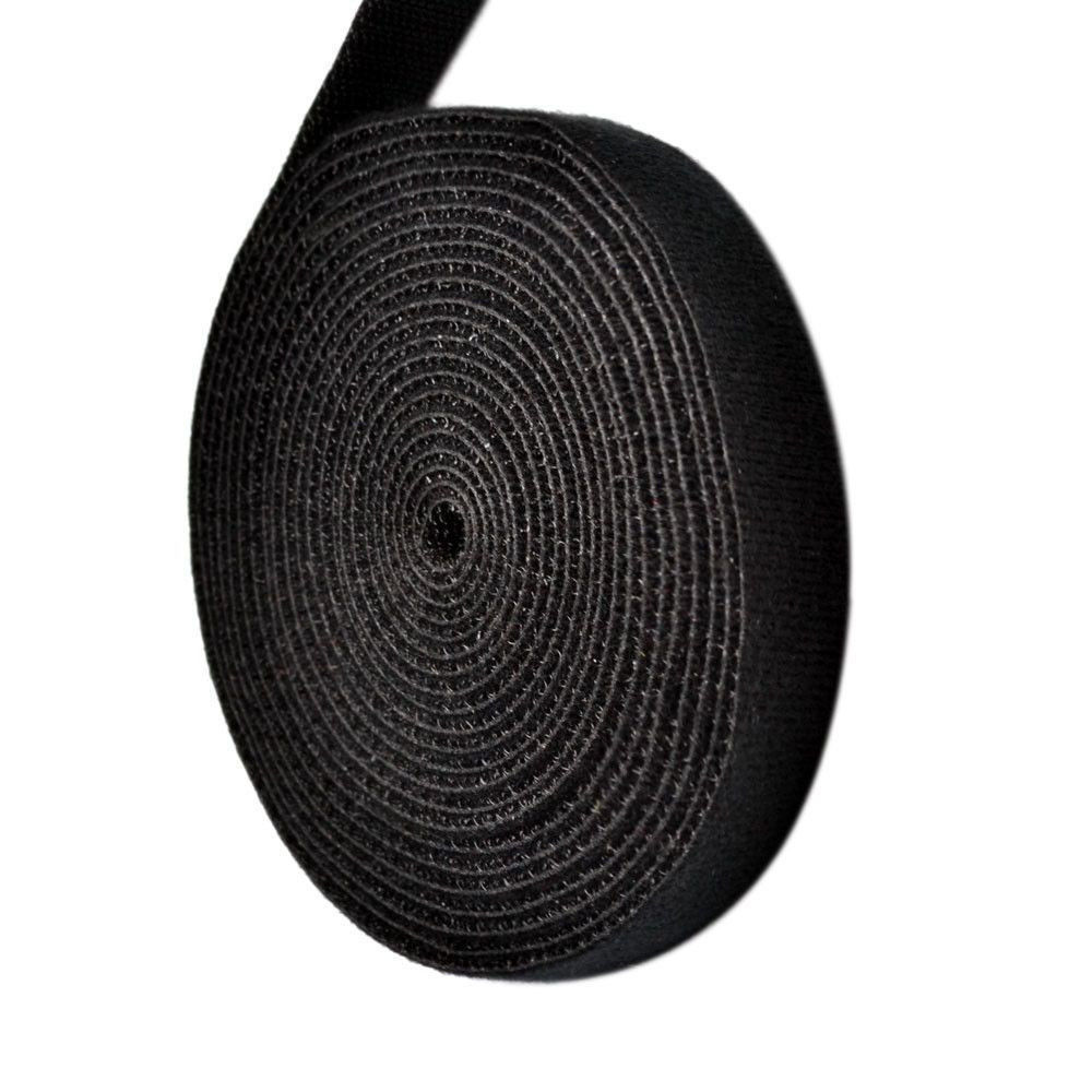 621b3a948177 Get Quotations · Black 3 Yard/Roll Velcro Cable Fastening Tape 0.39 inch Velcro  Cable Ties Organizers One