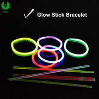 Hot Selling High Quality Neon Glowing Stick Bracelets for Party Favors