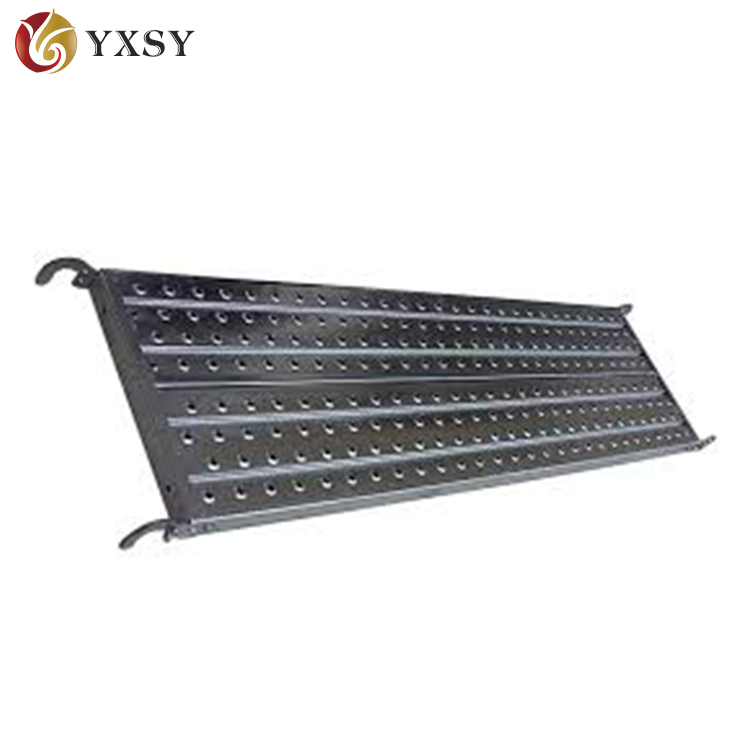 STK400 Punched Metal Deck Stairs/Steel Plank For Scaffodling Materials