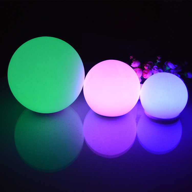 dmx glow swimming pool outdoor moon light lifting led ball