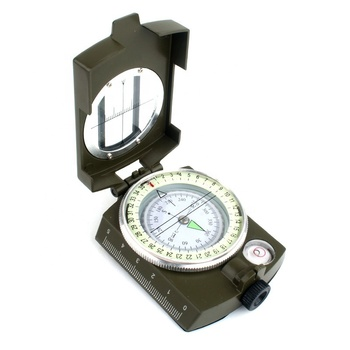 Multifunction Military Army Metal Sighting Compass High Accuracy Waterproof luminous Compass