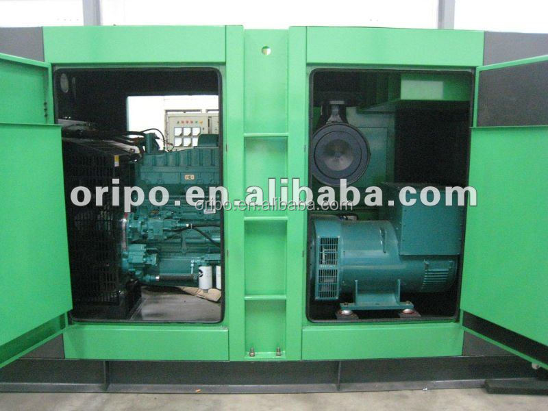 400kVA 320kW Electricity Voltage Genset Power Silent Type Diesel Genset