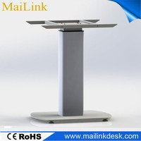 height adjustable desk, electric lifting column 2016