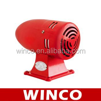 Industrial Electric Motor Siren Ms-395 Ac110v Ac230v 125db