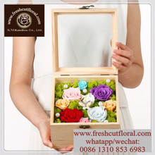 Noted Not-Dried Preserved Flowers Roses For Sale Year Round