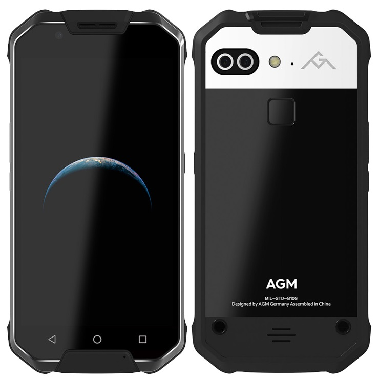 New rugged phone AGM X2 Triple Proofing Phone Ram 6GB Rom 64GB IP68 Waterproof 5.5 inch Android 7 OTG Mobile Phone