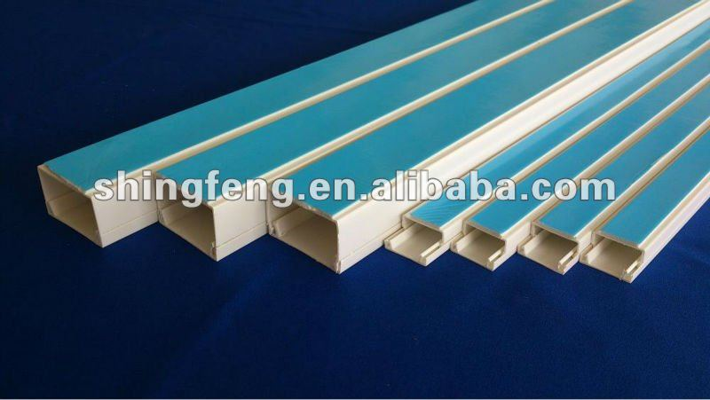 3 Way Pvc Compartment Trunking Buy Pvc Compartment Trunking Pvc Electrical Trunking Pvc Trunking Product On Alibaba Com