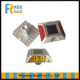 white red yellow blue 4 LED double reflectors Solar cat eye flashing lights road stud