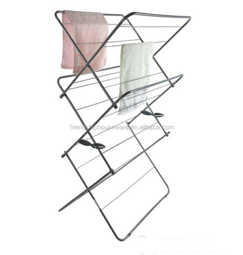 12Years Manufacturer For The Best Selling 3 Tier Plus Indoor Airer, Extra Wide 20m drying space Garment Drying Rack