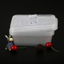 Plastic Container Storage 500ml Cake Airtight Bento Miscrowave Disposable One Time Lunch Box