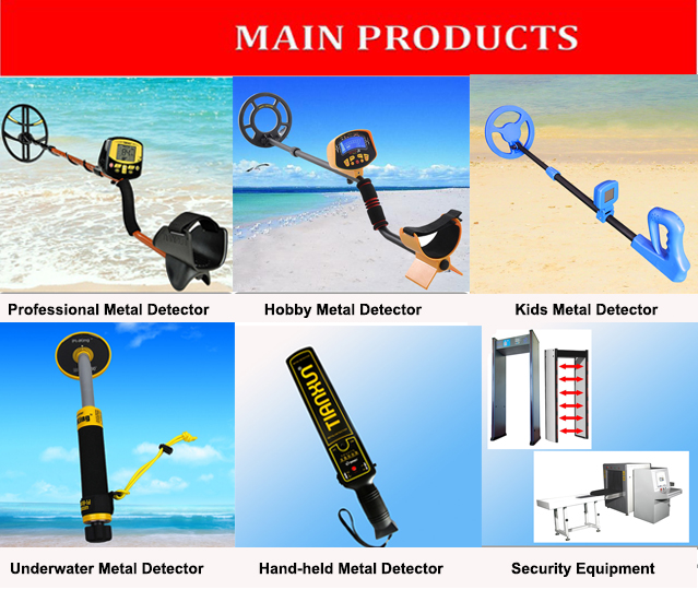 MD-3008 portable easy operation hand-held metal detector