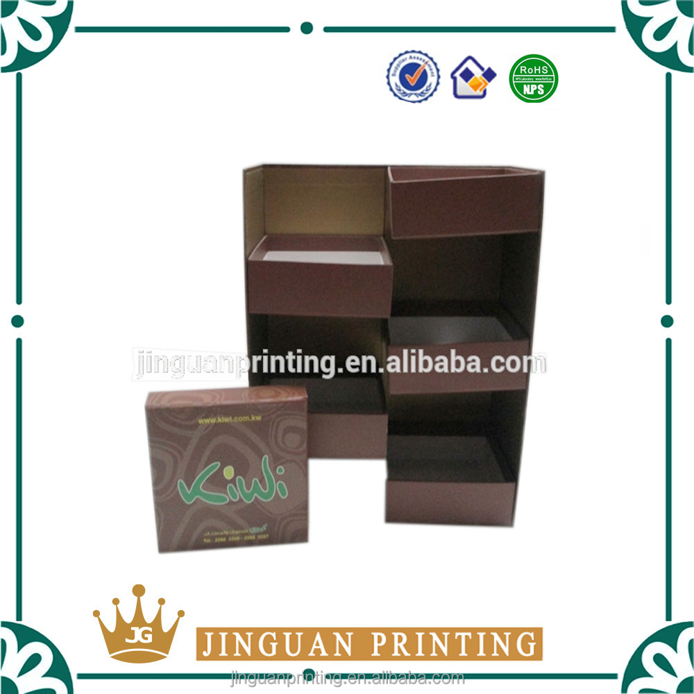 Custom printing luxury packaging box high quality cardboard paper display 5 layer carton box