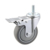 High quality 5 inch dolly caster, PU caster, swivel caster wheel
