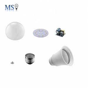 Good quality high lumen 12w OEM skd led bulb components