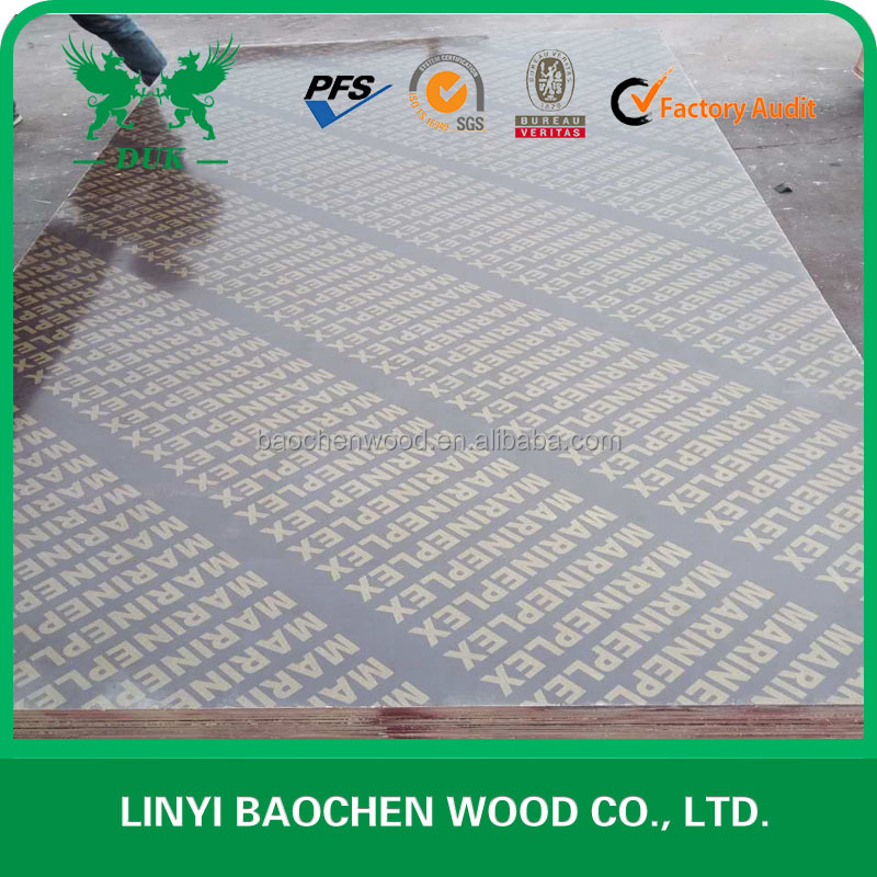 Best Price No Slip Construction Pine Used Film Faced Plywood