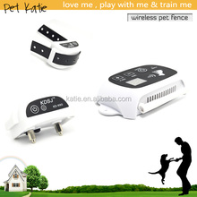 KD-661 Brand New 2 Dogs Wireless Pet Fence with Waterproof Shock Collar