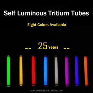 1.5mm*6mm/2mm*12mm/3mm*11mm/3mm*15mm/3mm*22.5mm/3mm*25mm Automatic light 25 years Glowing Tritium Tube EDC DIY Outdoor Tools