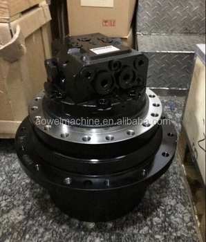Pc120 excavator final drive travel motor pc120 3k for Hydraulic track drive motor