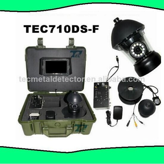 Good underwater fishing camera TEC710DS-F 20M Cable Underwater fish finder