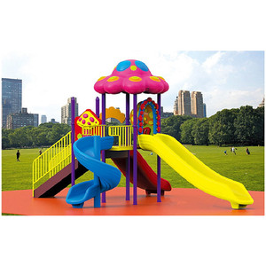 Large Outdoor Plastic Playground Amusement Park Toy equipment