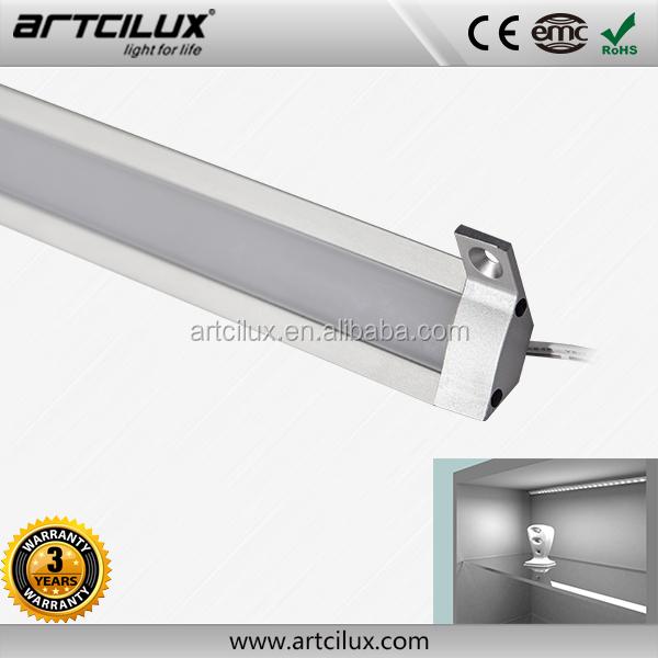 barre led cuisine applique rglette led aluminium 0m50 69 led smd blanc chaud lampe led 66cm. Black Bedroom Furniture Sets. Home Design Ideas