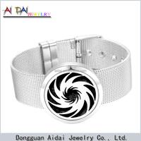 Fashion jewelry magnet bracelet 316L Stainless Steel Titanium Steel Men bracelet